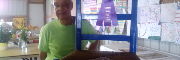 Adella Stevenson wins 2013 Garrard County Fair Recycling Contest