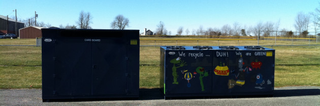 Permanent Recycling Collection Box Placed in McKinney
