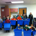 Bluegrass PRIDE conducts waste audits in area schools
